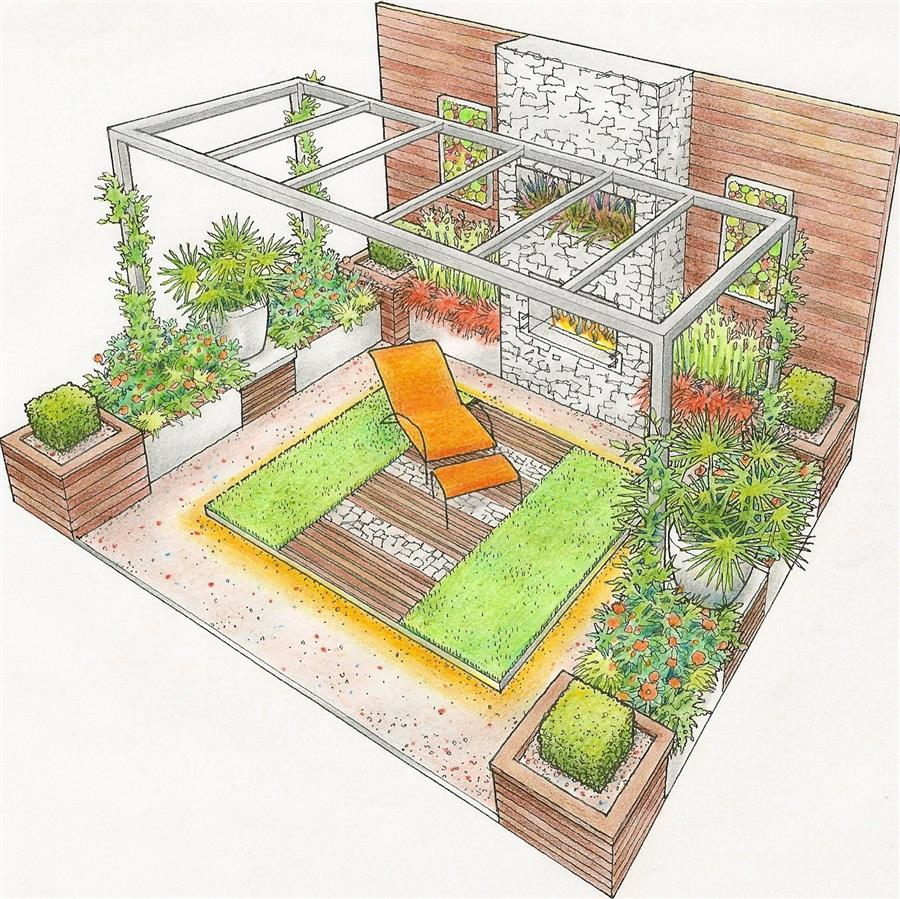 Show garden at Grand Designs Live London
